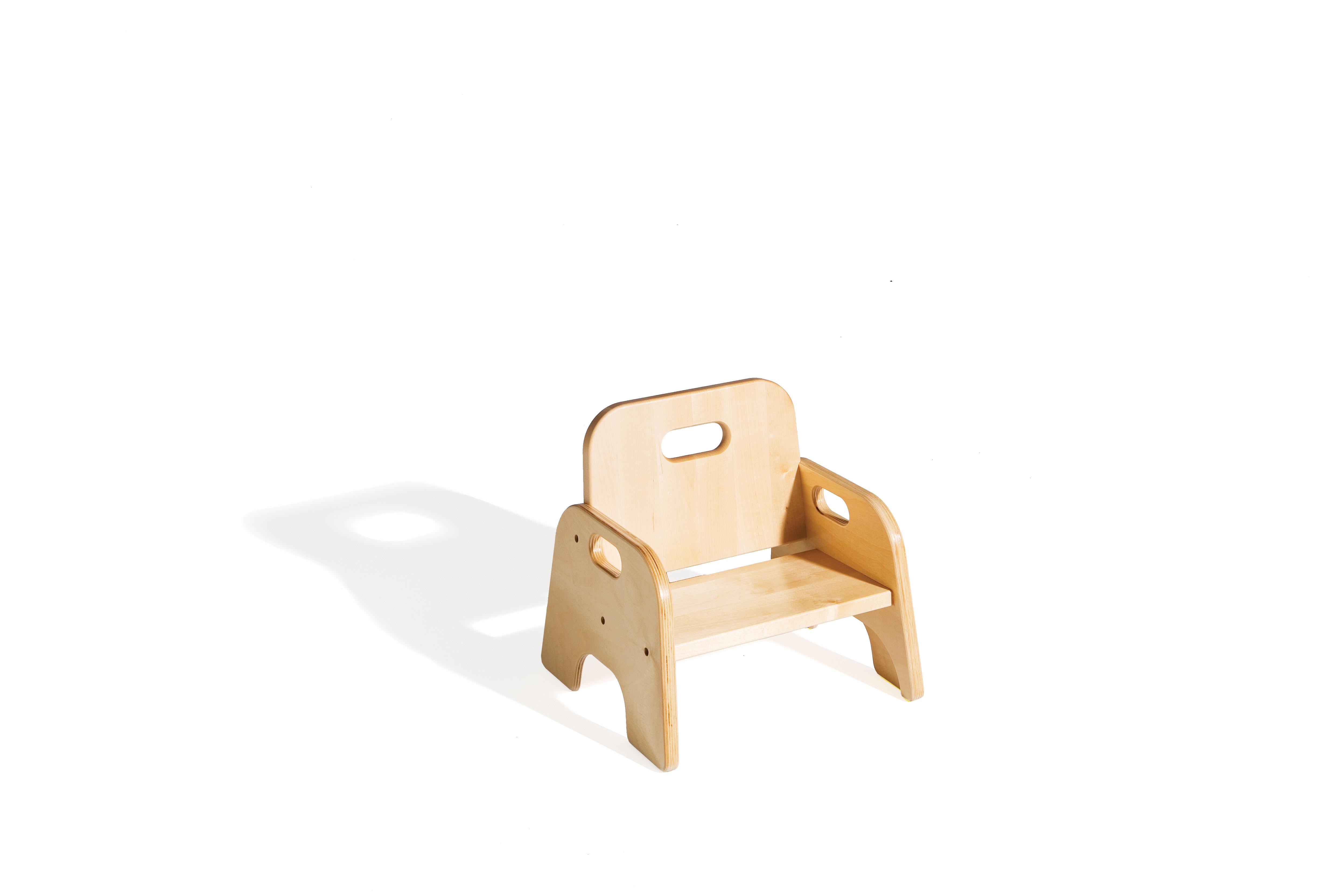 Chaises adaptées aux enfants