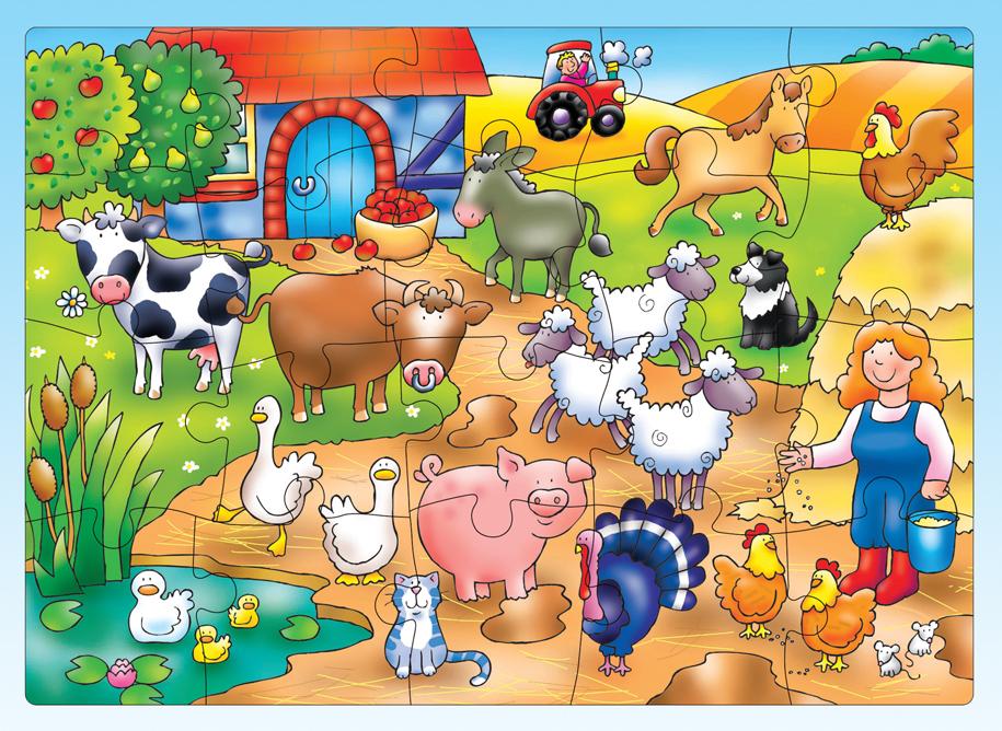 Qui est dans la ferme ?