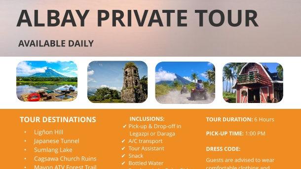 Albay Private Tour