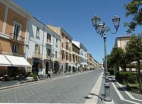 Campobasso corso Vittorio Emanuele municipio villa musenga