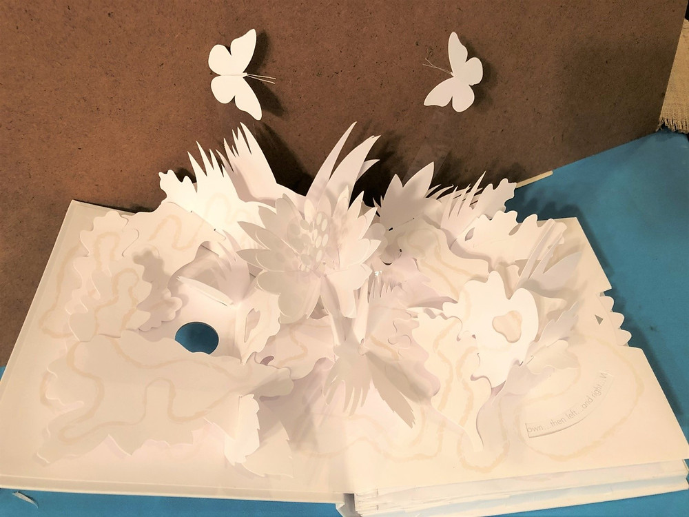 Pop-up book Trail: Paper Poetry Pop-Up, by David Pelham