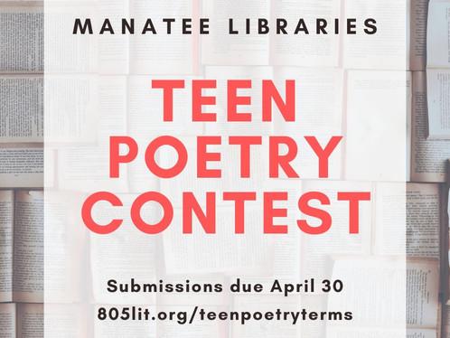 Teen Poetry Contest!