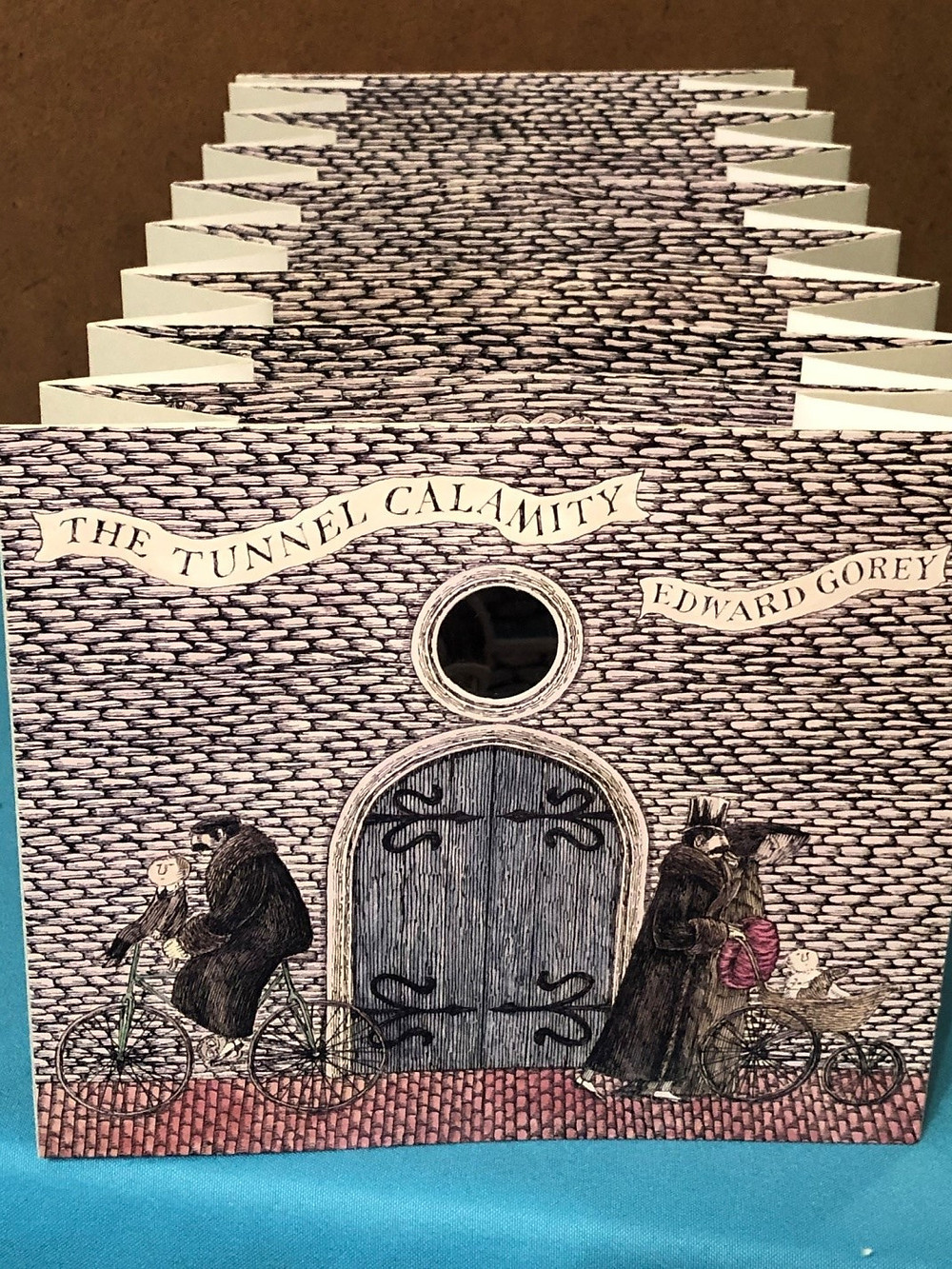 Pop-up book The Tunnel Calamity by Edward Gorey
