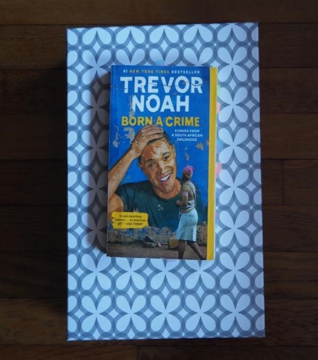Photo of book Born a Crime by Trevor Noah