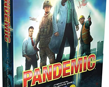 "It's like ""Pandemic: The Board Game,"" by Liz Dean"