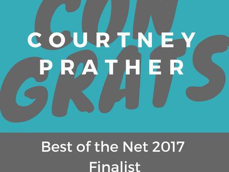 Congrats Courtney Prather!