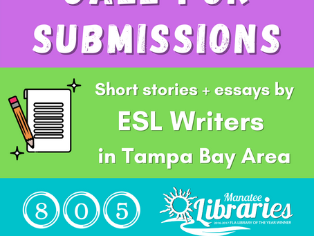 ESL Writers Needed for Local Anthology