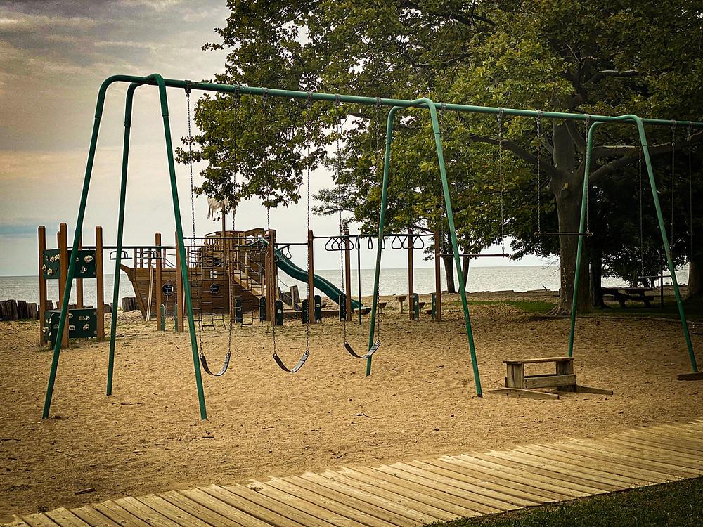 Photo of empty playground
