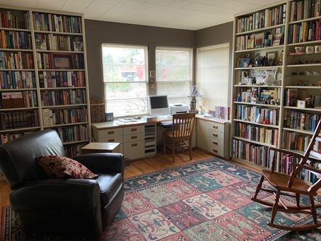 Books Before Furniture, by Vivian McInerny