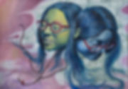 Choi_The_two-faced_me_Oil_on_canvas_15.5