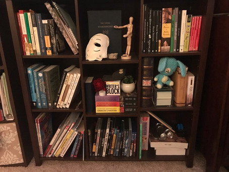 A Close Inspection of My Personal Library By, Makayla Berry