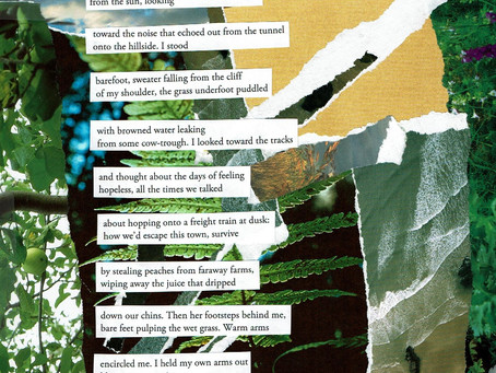Two Works: Collage Poetry + Graphic Lit