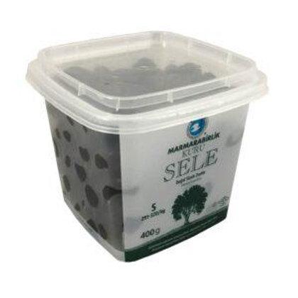 Marmarabirlik Black Dry Cured Olives XS 400 Gr