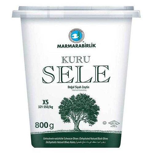 Marmarabirlik Dry Cured (XS) Black Olives 800g