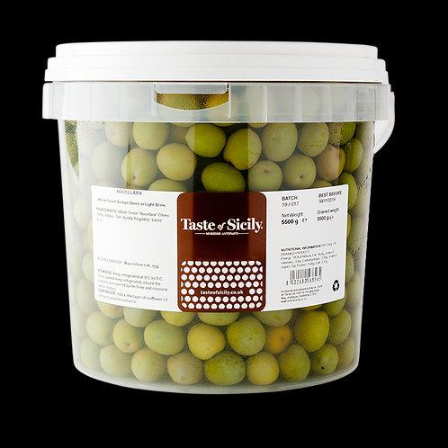 Taste of Sicily Nocellara Belice Olives Tub 5.5KG