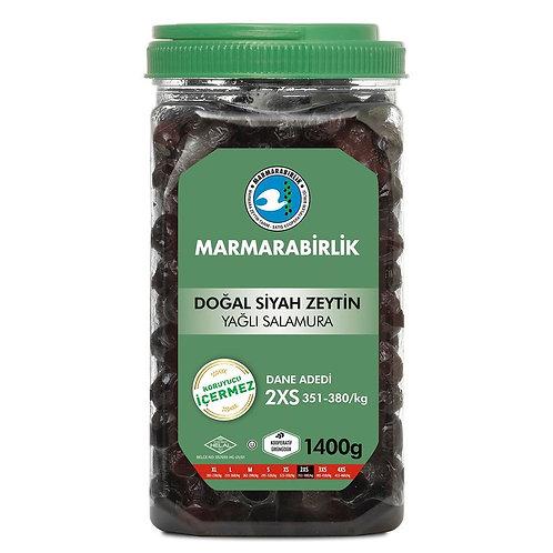 MarmaraBirlik Natural Black Olives (2XS) 1400G