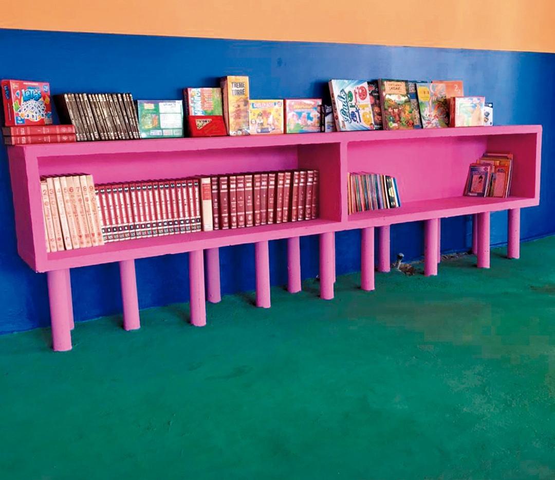 Biblioteca e brinquedoteca infantil