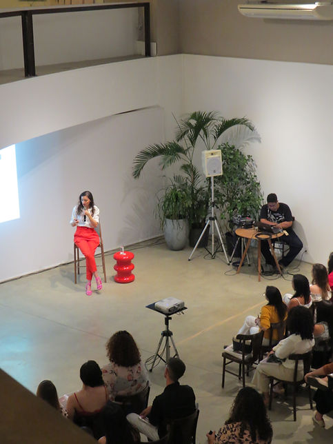A palestra Gestão para Arquitetos. Evento realizado em setembro de 2019 a convite da Lilia Casa Teresina  para um público de quase cem estudantes e recém formados de arquitetura.