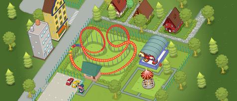 Amusement Park in the Neighborhood