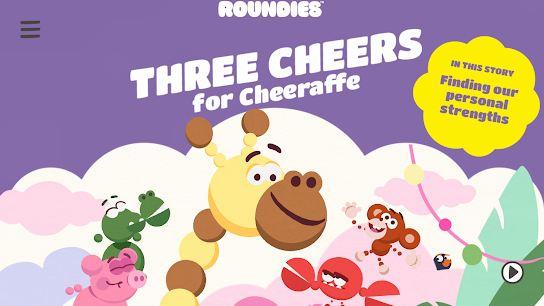 Three Cheers for Cheeraffe