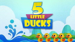 5 Little Ducks Nursery Rhymes