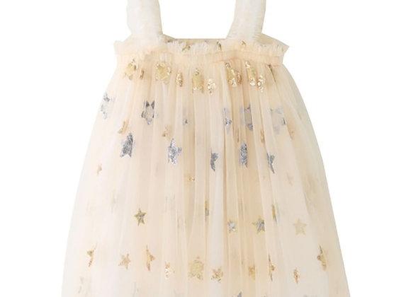 Starlight Flounce Dress (cream)