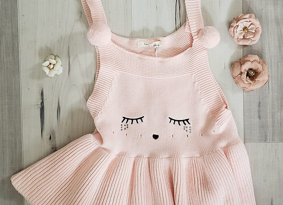 Baby Bunny Knit Jumper (pink)
