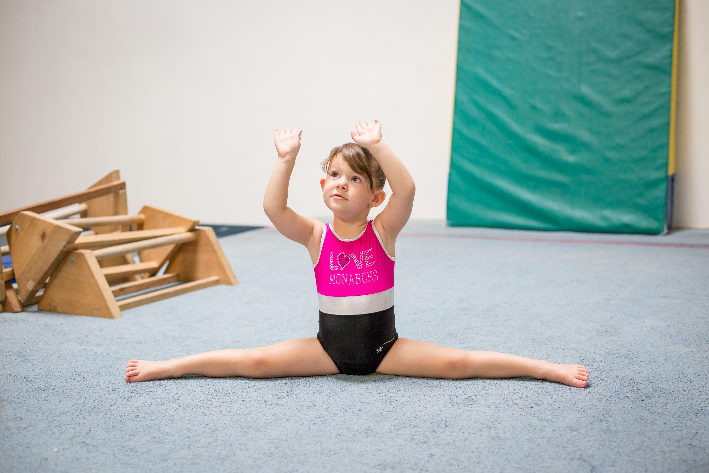 Monarchs Gymnastics Stretch