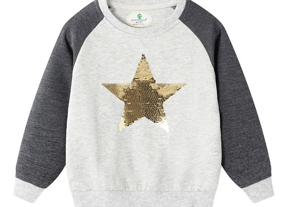 Shining Star Pullover Sweatshirt