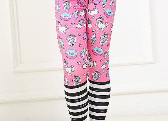 Girls Soft Leggings (Unicorn)
