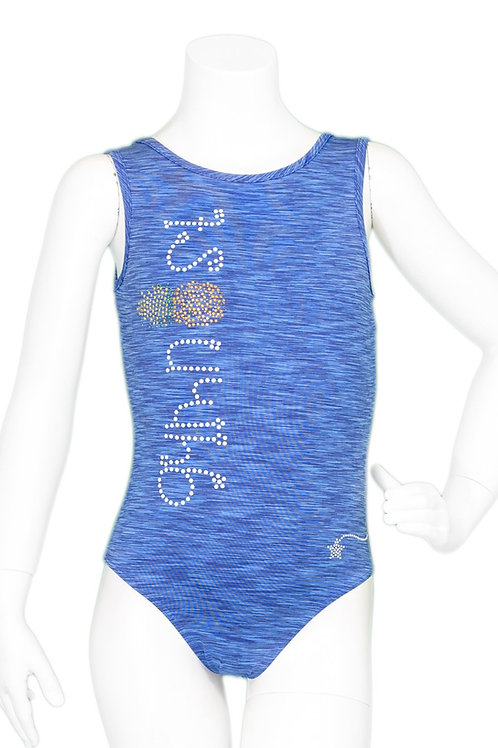 Destira Blue Pineapple Leotard