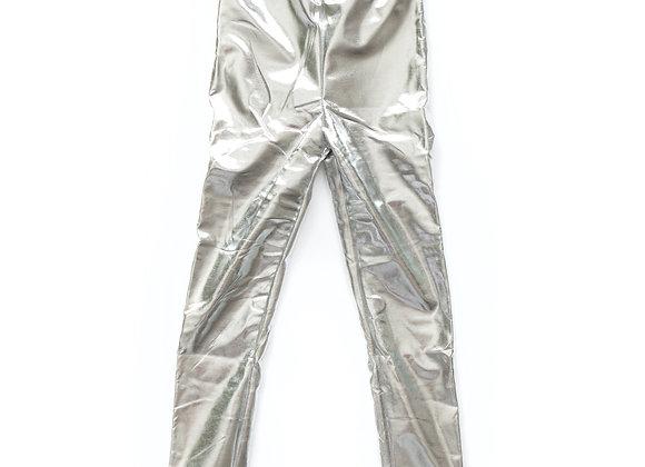 Metallic Print Legging