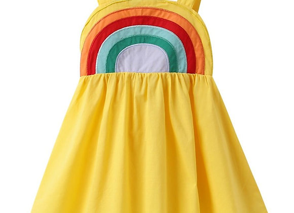 Over The Rainbow Dress (yellow)