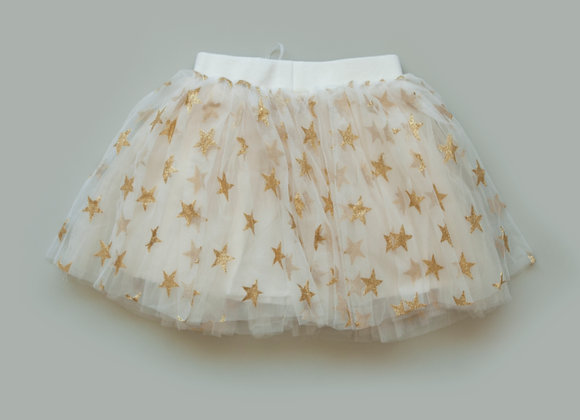 Star Tulle Skirt (cream)