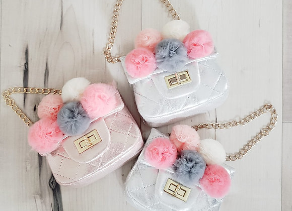 Pom Pom Bouquet Party Bag