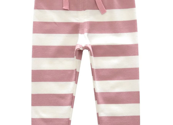 Soft Stripe Knit Legging