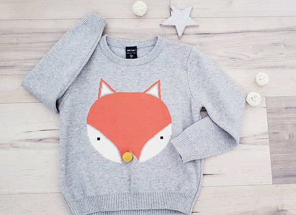 Fox Face Sweater