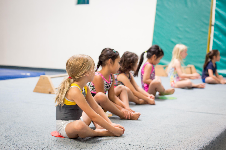 Monarchs Gymnastics Warm-up
