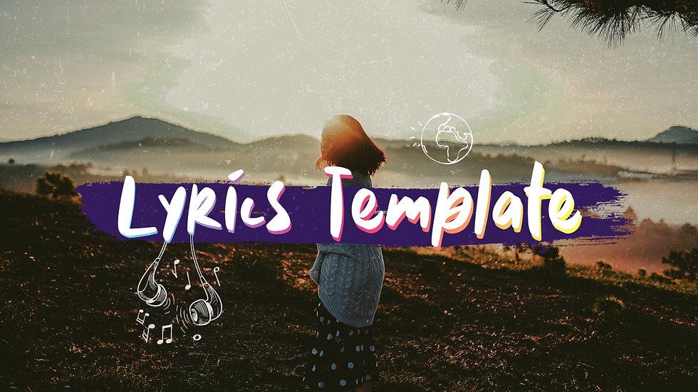 Free Lyrics Titles | Premiere Pro Template
