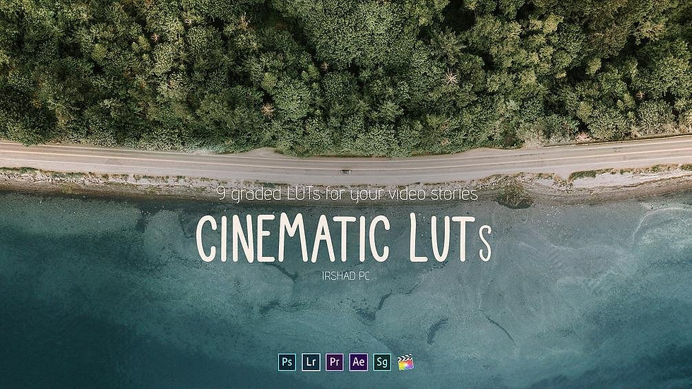 Cinematic LUTs Pack