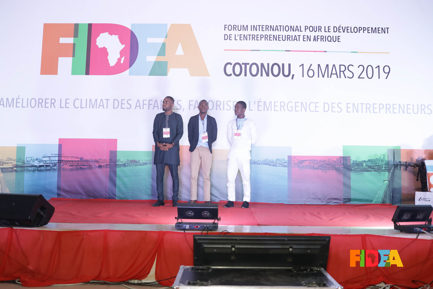 Sédric DEGBO, Roland AMOUSSOU, Adjibayé AFFOLABI