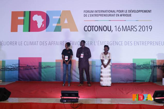 Azarath OGBON, Rodrigue BADEDJI, Chantal ADIKO