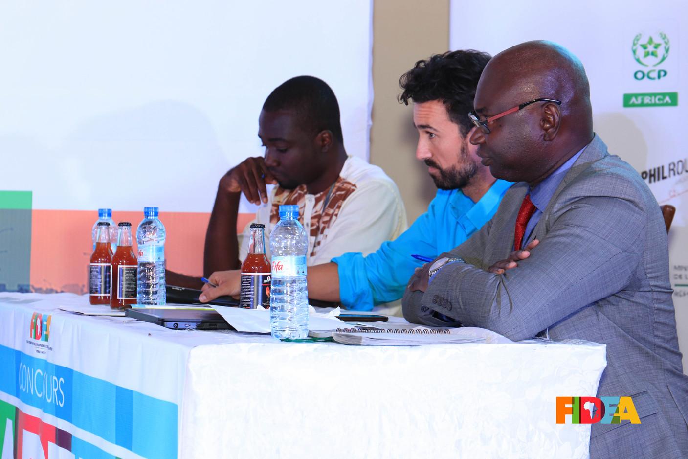 Boris PADANOU, Grégory VALADIE, Abdoul Aziz DIALLO