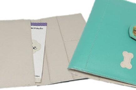 Porta Documentos Blue Heart Tiffany