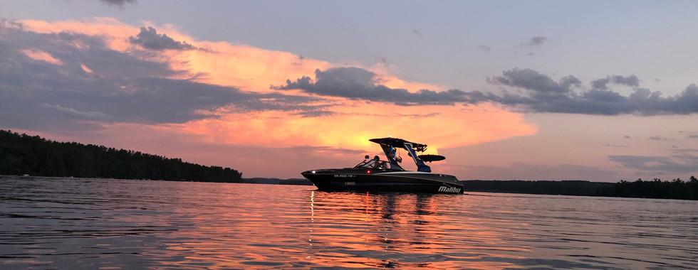 Nothing Like A Sunset on Long Lake.JPG