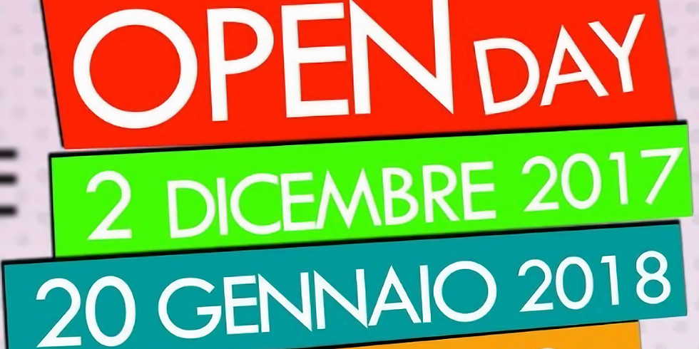 OPEN DAY IN OGNI SEDE