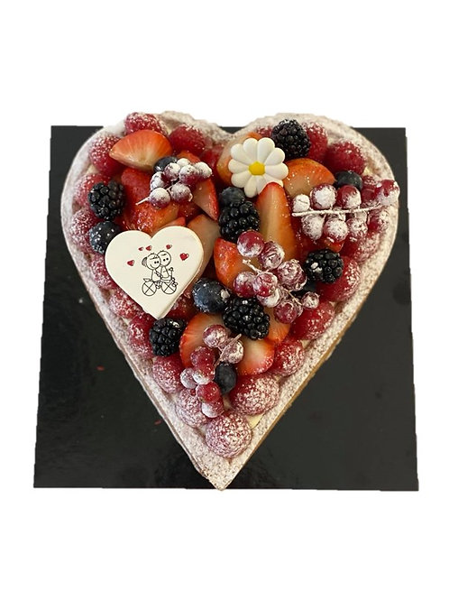 Hart croute rode vruchten 3p / 5p