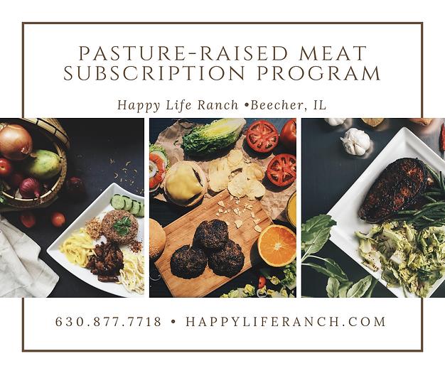 Happy Life Ranch Subscription Program-1.