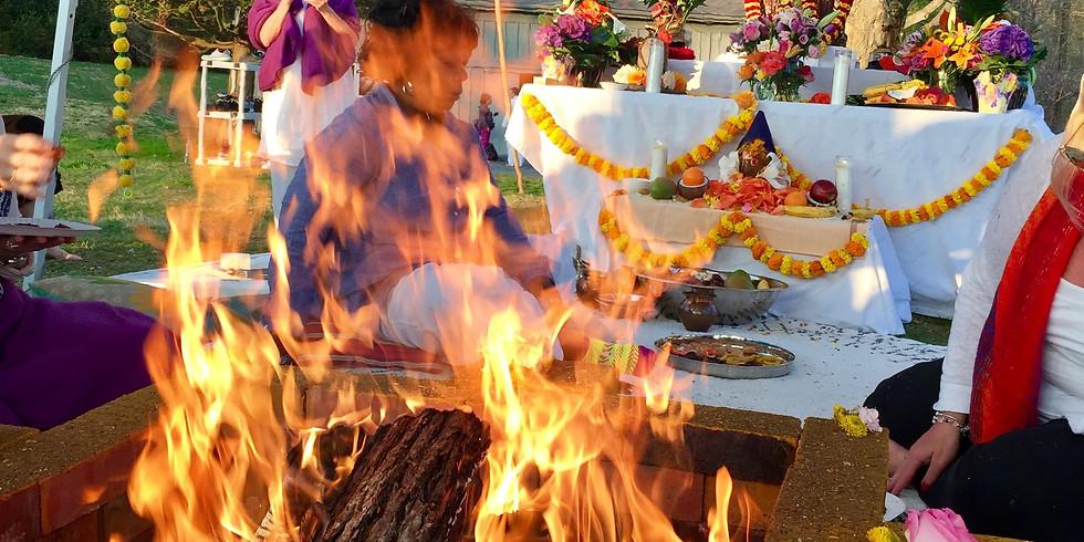Fall Equinox Yagya REMOTE from Varanasi India!