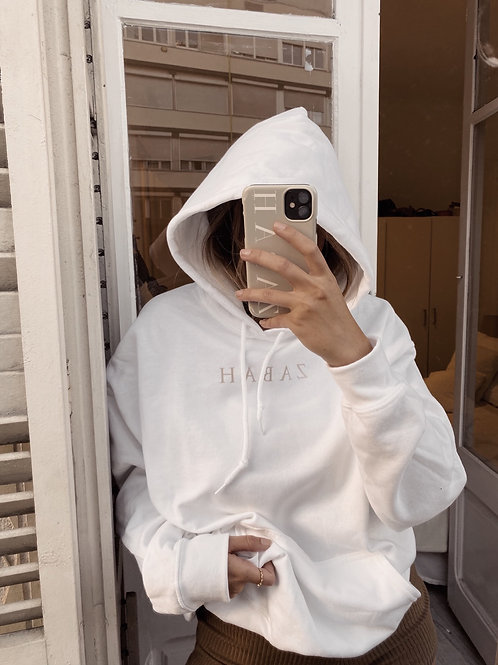 Sudadera Zabah blanca